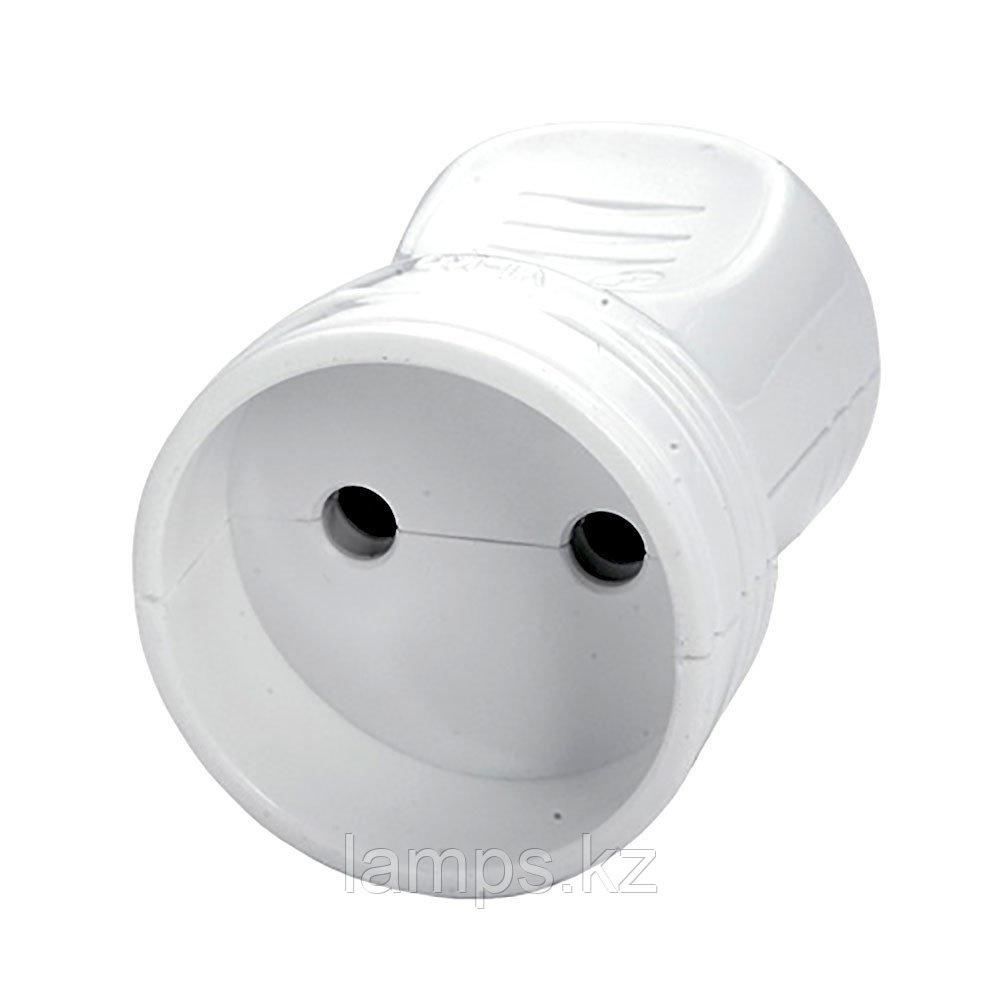 Штепсельная розетка без заземления Viko 90302500
