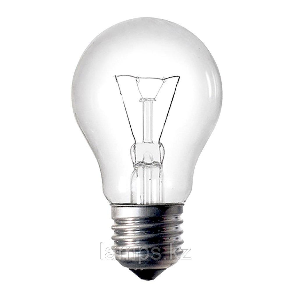 Лампа накаливания A19 CL 40W E27