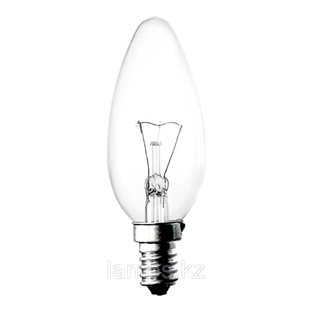 Лампа накаливания C35 15W E14 CLEAR