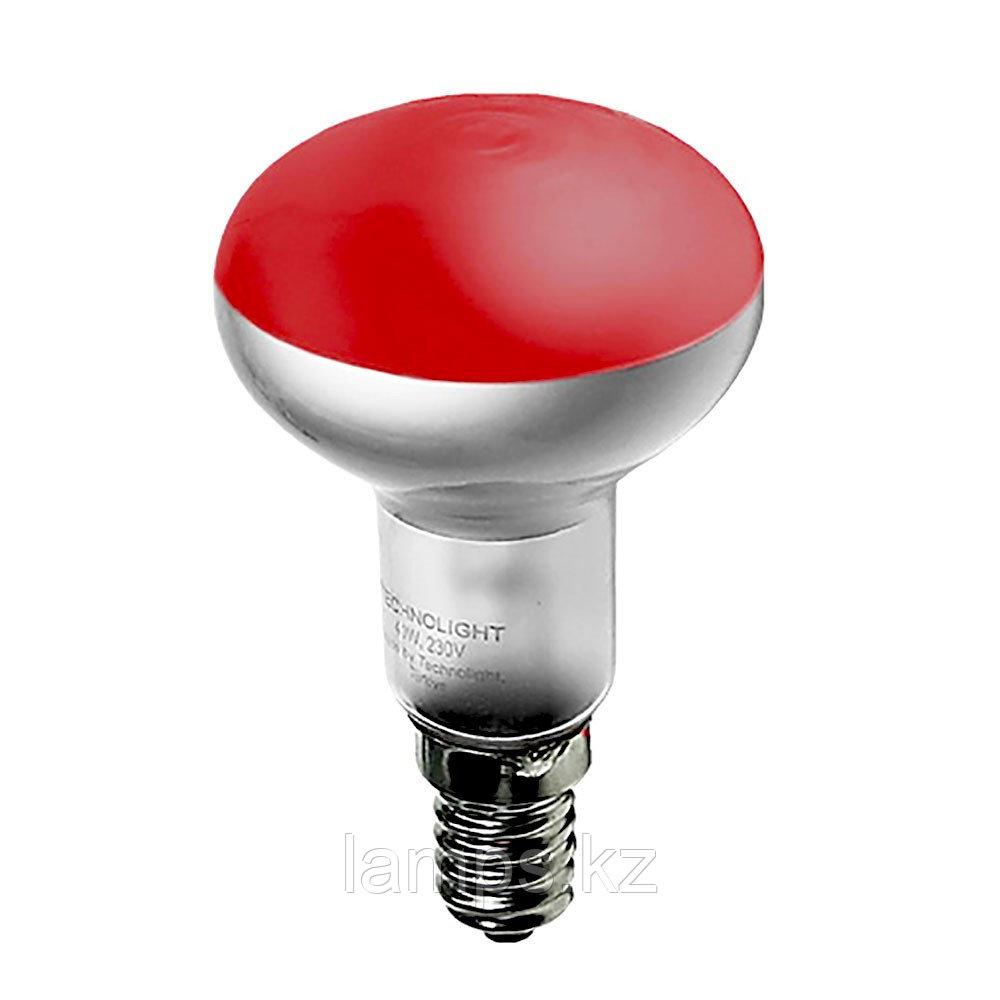 Лампа накаливания R39 30W E14 RED
