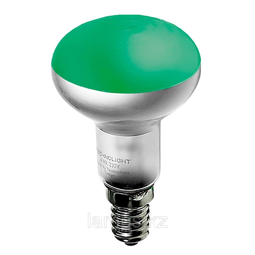Лампа накаливания R50 40W E14 GREEN