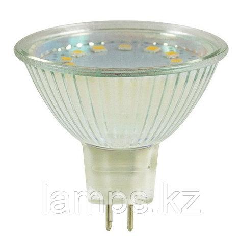 Светодиодная лампа LED MR16 3W 6500K, фото 2