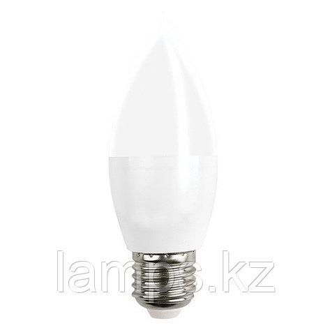 Светодиодная лампа LED C35 6W 3000K E27, фото 2