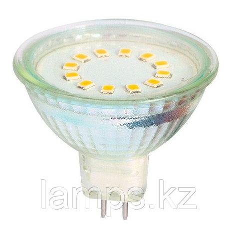 Светодиодная лампа LED MR16 3W 3000K, фото 2