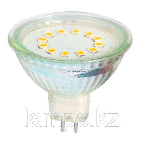 Светодиодная лампа LED MR16 3W 6000K, фото 2