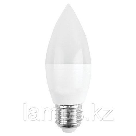 Светодиодная лампа LED C35 6W E27 2700K, фото 2