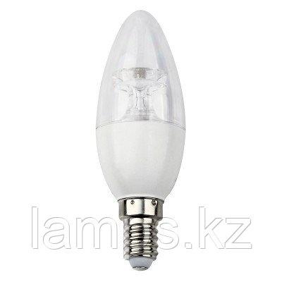 Светодиодная лампа LED Crystal C37 5W E14 3000K, фото 2