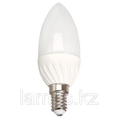 Светодиодная лампа LED C35 4W E14 6000K, фото 2