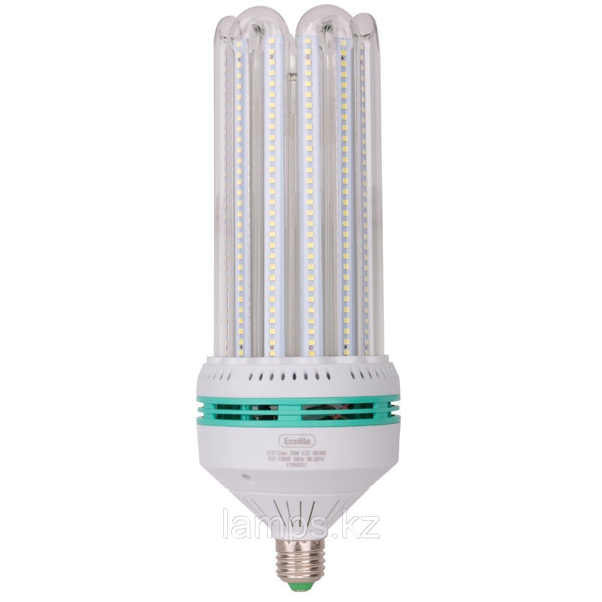 Светодиодная лампа LED Corn 70W E27 6000K