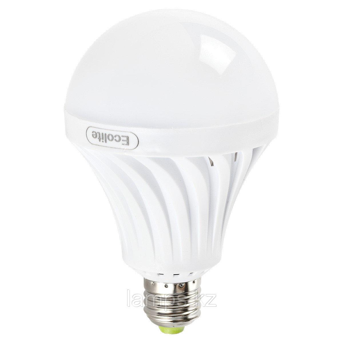 Светодиодная лампа на аккумуляторе аварийная 9W E27 6000K