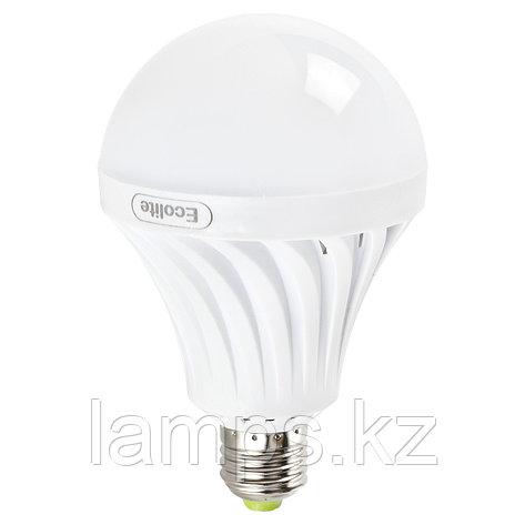 Светодиодная лампа на аккумуляторе аварийная 9W E27 6000K, фото 2