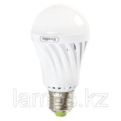 Светодиодная лампа на аккумуляторе аварийная 12W E27 6000K, фото 2