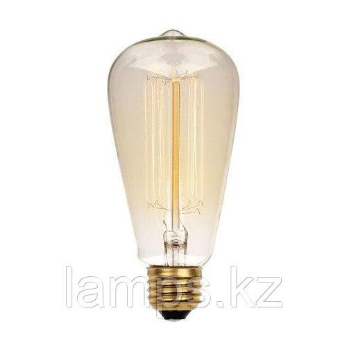 Лампа Эдисона ST64 40W E27