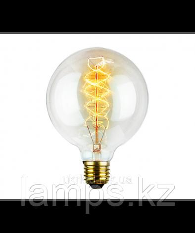 Лампа Эдисона G80A 40W E27, фото 2