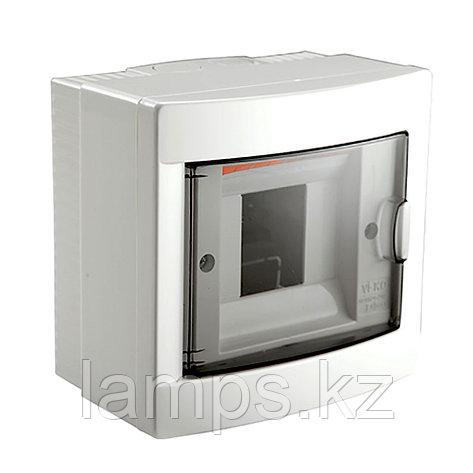 Щит пластиковый накладной VIKO 90912104, 4 модулей, фото 2