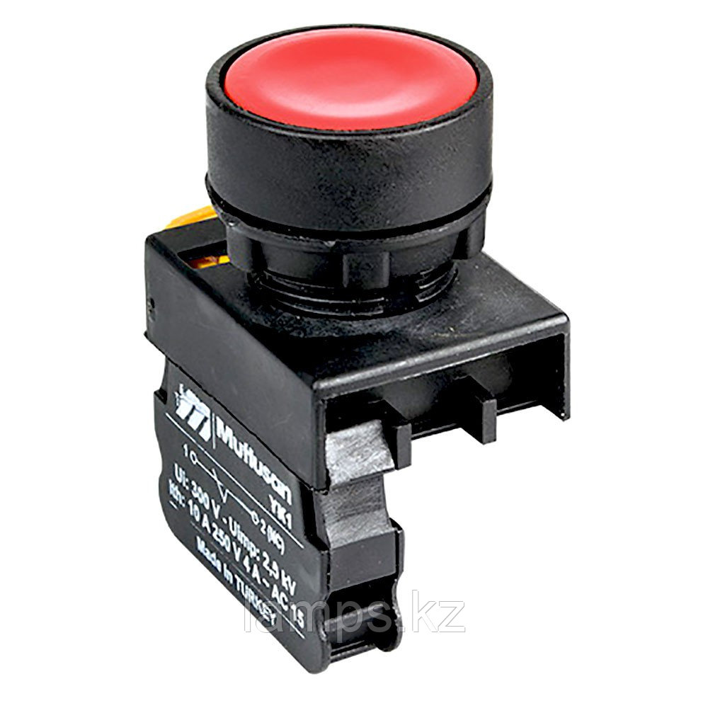 Кнопка аварийная Mutlusan, красная, STOP
