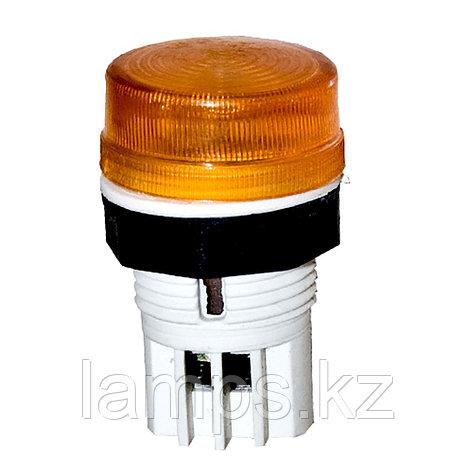 Сигнальная кнопка Mutlusan, 22мм, 220В, цвет желтый YELLOW, фото 2