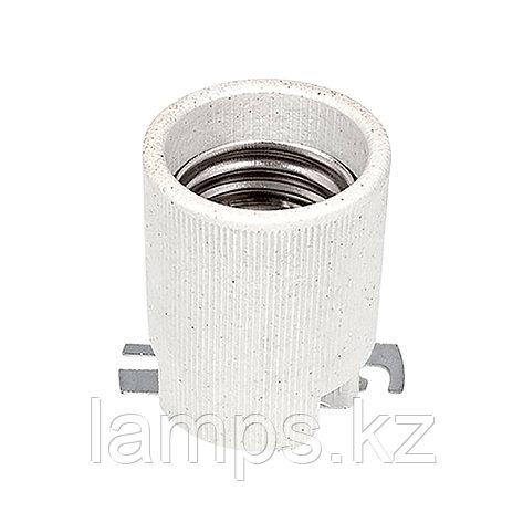 Патрон керамический цвет белый E40, фото 2