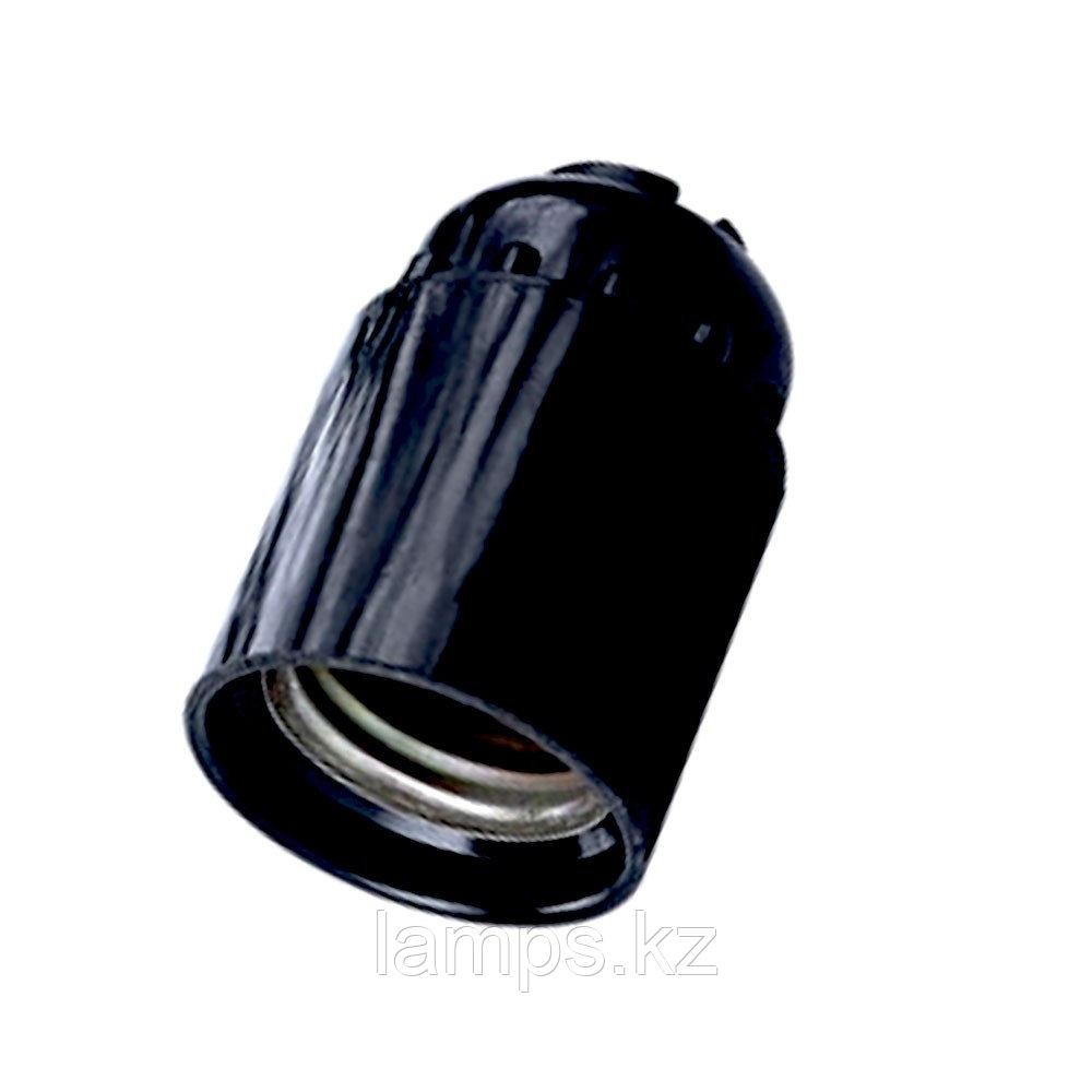 Патрон пластиковый цвет чёрный E27 4248
