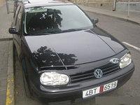 Мухобойка (дефлектор капота) на Volkswagen Golf/Фольксваген Гольф 4, фото 1