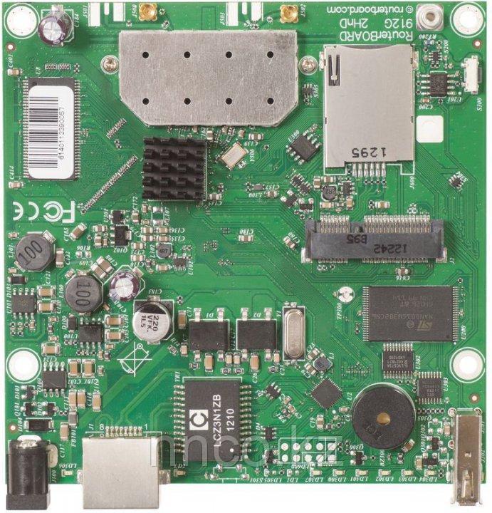 Плата MikroTik RB912UAG-2HPnD