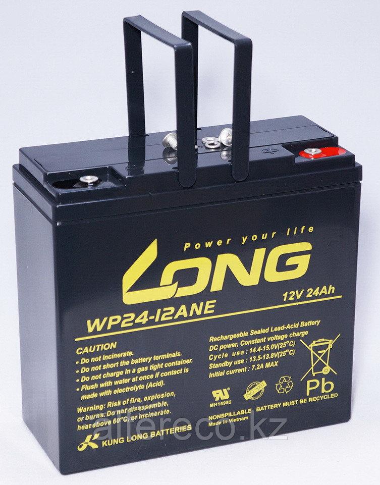 Аккумулятор LONG WP24-12ANE (12В, 24Ач) - аналог 6-DZM-20
