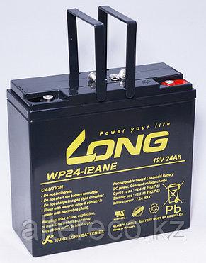 Аккумулятор LONG WP24-12ANE (12В, 24Ач) - аналог 6-DZM-20, фото 2