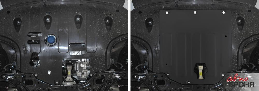 Защита картера и КПП  Hyundai Elantra, 2016-н.в., фото 2