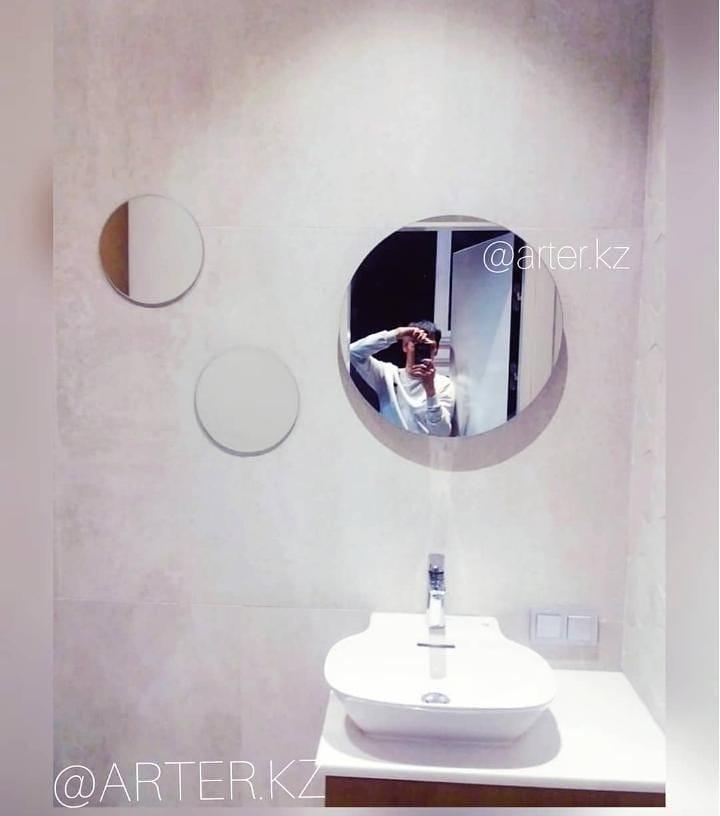 """Зеркала для ванных комнат с Led подсветкой """"парящее"""""""