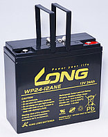 Тяговый аккумулятор LONG WP24-12ANE (12В, 24Ач) - аналог 6-DZM-20