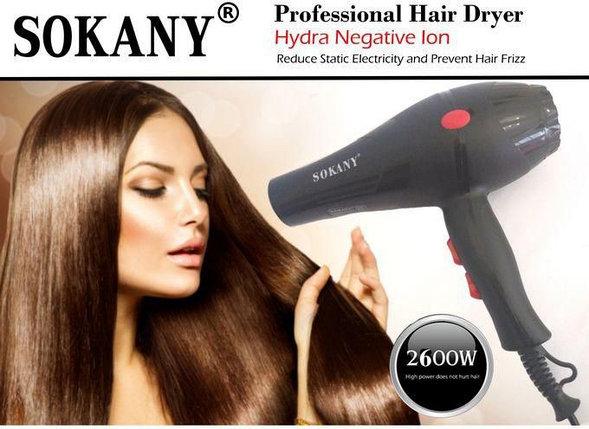 Фен для волос Sokany  HS-3210, фото 2