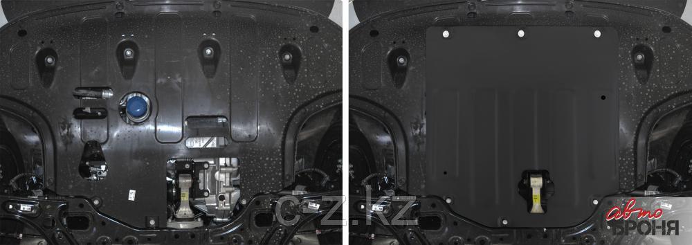 Защита картера и КПП Kia Cerato (Cerato Classic) IV 2015-2020, фото 2