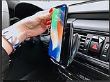 Беспроводная зарядка в автомобиль smart sensor s5, фото 2