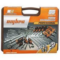 Набор инструмента Ombra OMT55S, 1/4', 1/2', головки 4-32 мм, 55 предметов