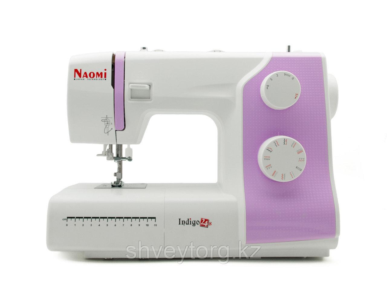 Бытовая швейная машинка  NAOMI INDIGO 24 S