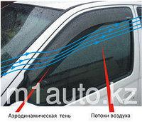 Ветровики/Дефлекторы окон на Volkswagen Multivan/Фольксваген Мультивэн 2008-, фото 1