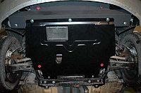 Защита картера двигателя и кпп на Volkswagen Touareg/Фольксваген Туарег 2010-, фото 1