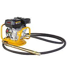 Вибратор глубинный бензиновый  CHAMPION CVG424 (4кВт 24кг 4-6м без вала и вибронаконечника), CHAMPIO