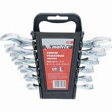 Набор ключей рожковых 6шт.6-17мм хромирование Матрикс 15231