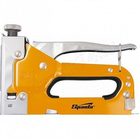 Степлер мебельный тип 53,4-14мм SPARTA 42002