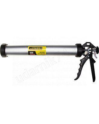 Пистолет для герметика закрытый 600мл.STAYER 0673-60