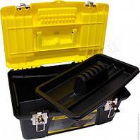 """Ящик для инструмента STANLEY """"JOMBO"""" с 2я пластм.с органайзерами в крышке 1-92-905"""
