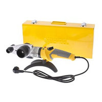 Аппарат для сварки пластиковых труб Denzel DWP-2000, Х-PRO, 2 кВт, 300 С, комплект насадок, 20-63 мм