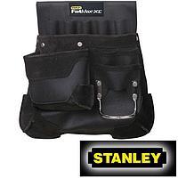 Сумка поясная для инструмента и гвоздей кожаная STANLEY 1-94-227