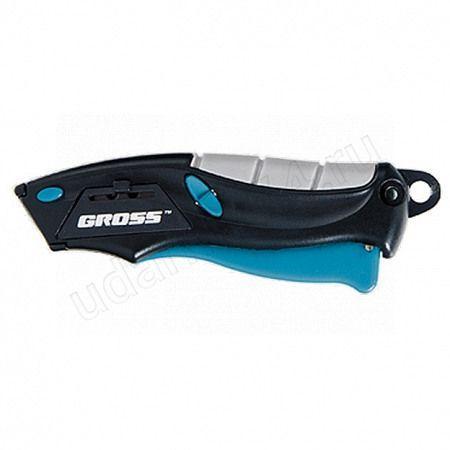 Нож ремонтно-монтажный mini GROSS+2 лезвия 78873