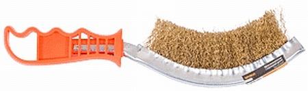 Щетка ручная металл.с пласт.ручкой FIT 38420