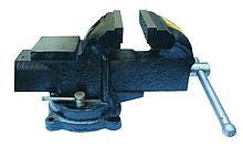 Тиски слесарные,поворотные,с наковальней 150мм Hobbi арт.44-4-215