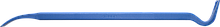 """Лом гвоздодер Зубр """"Эксперт""""кованый,усиленный,30 х15мм, 800мм 2165-80"""