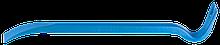 """Лом гвоздодер Зубр """"Эксперт""""кованый,усиленный,22 х12мм, 400мм 2165-40"""
