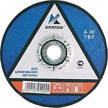 Диск шлифовальный по металлу 115 х6.0 х22мм Кратон 1 07 04 001